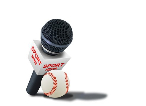 Sports news reporter