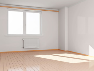 Modern Empty Room Interior