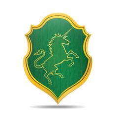 Emblem of the unicorn