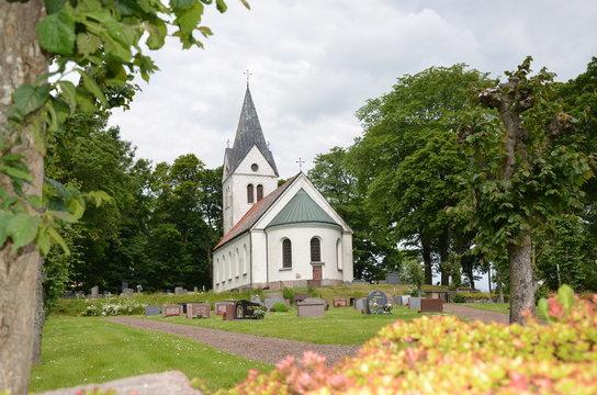 Kuddby church in Sweden