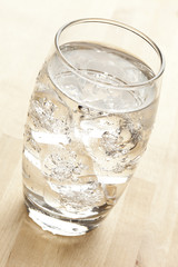 Fresh Clear Water in a glass