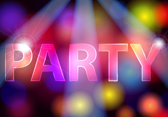 Elegant party invitation