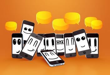 happy mobile phones