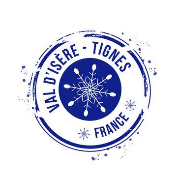 timbre Tignes / Val d'Isère