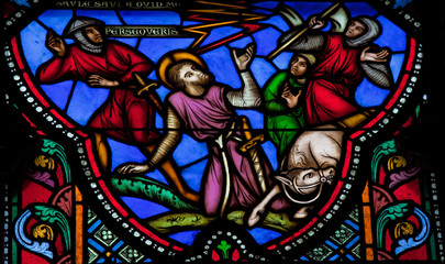 The Conversion of Saint Paul - Stained Glass