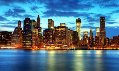 Fotomurales - Skyline de Manhattan, New York.