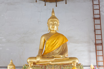 Meditation of Buddha Image in Thailand