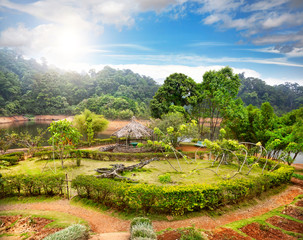 Keuken foto achterwand India Garden in India