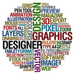graphic design words