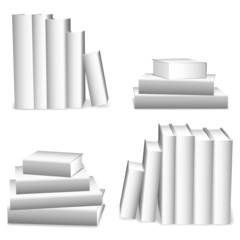 White books.