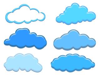 Formas nubes cloud