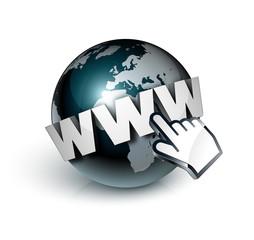 planète terre internet www - fototapety na wymiar