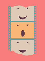 film strip poster