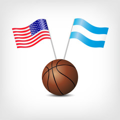 USA ARGENTINA - Basketball