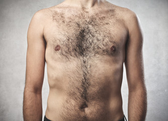 Hairy chest