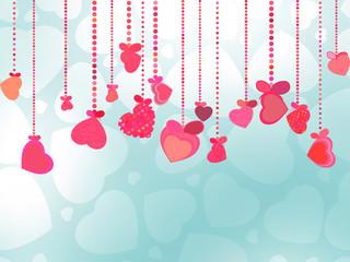 Valentines Day Background. EPS 8