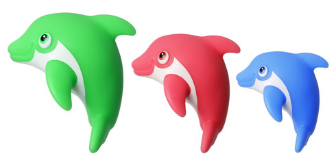 Toy Dolphins
