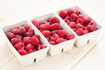lots of raspberries