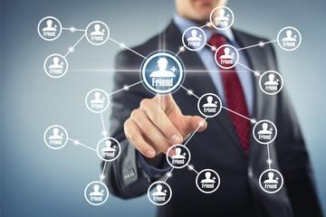 Social Network Interface