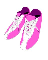 pink sport-shoes