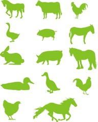 pictogrammes animal de ferme