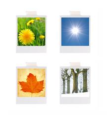Four seasons photographs
