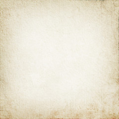 parchment texture as white grunge background with vignette