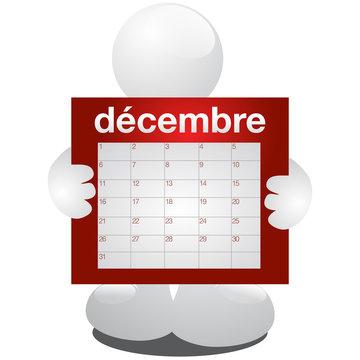 planning décembre