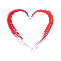 paint heart
