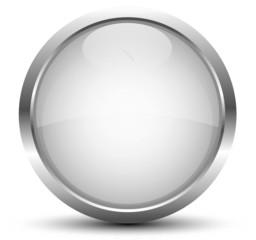 Button Silber Metallic