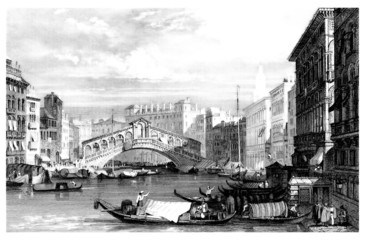 Venice : a View - begining19th century