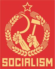 socialism - communism poster