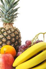 Set of exotic fruit