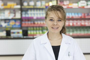 Pharmacist woman
