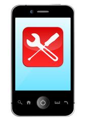 Service App Smartphone