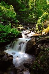 a stream in uludag , bursa, turkey