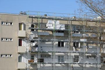 France, renovation of a building in Les Mureaux