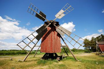 Windmühle auf Öland (Schweden)