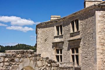 Inside Les Baux de Provence