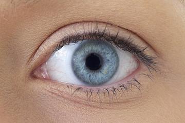 Oeil gauche - Femme