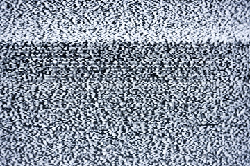 real tv static