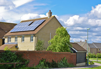 Domestic green energy of Solar panels