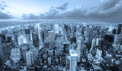 Fototapete - Manhattan, New York.