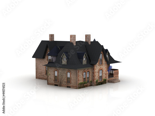 puppenhaus aus pappe 44076123. Black Bedroom Furniture Sets. Home Design Ideas