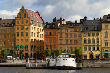 Gamla Stan - historical area of Stockholm