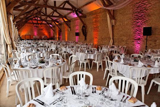 salle de réception pour banquets et mariages
