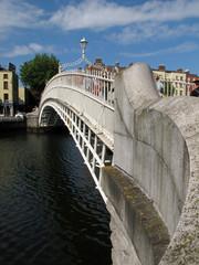 Dublin Irland Innenstadt River Liffey