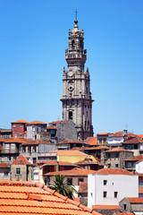 Torre dos Clérigos, Wahrzeichen von Porto, Portugal