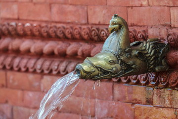 Old Nepalese water fountain