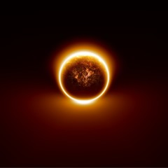 Fototapete - Exploding planet